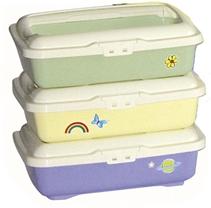"""Заказать Marchioro Goa / туалет с бортом (цвета """"пастель"""": светло-зеленый, мимоза, сирень) по цене 520 руб"""
