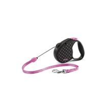 Flexi Color M / рулетка для собак весом до 20 кг Трос 5 м