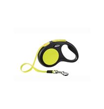 Flexi Neon New Classic  M / Флекси рулетка для собак до 20 кг Трос 5 м