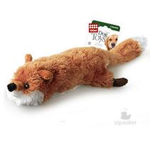 GiGwi Dog Toys / Игрушка Гигви для собак Лиса с большой пищалкой