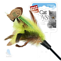 GiGwi Cat Toys / Игрушка Гигви для кошек Дразнилка на стеке с Рыбками