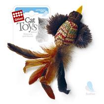 GiGwi Cat Toys / Игрушка Гигви для кошек Птичка с перьями