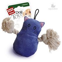 GiGwi Dog Toys / Игрушка Гигви для собак Кот с пищалкой