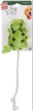 GiGwi Dog Toys / Игрушка для собак Лягушка с теннисным мячом