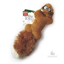 GiGwi Dog Toys / Игрушка Гигви для собак Белка с 2-мя пищалками литая форма