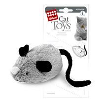 GiGwi Cat Toys / Игрушка Гигви для кошек Интерактивная Мышка со звуковым чипом (реагирует на прикосновение лапы кошки)