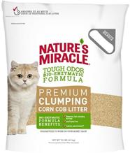 8in1 Nature's Miracle Premium Clumping Corn Cob Litter / 8в1 Наполнитель кукурузный для кошачьего туалета комкующийся 4,5 кг