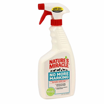 8in1 Nature's Miracle Dog No More Marking Stain&Odor Remover / 8в1 Уничтожитель Пятен и запахов от собак против Повторных меток спрей