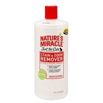 Заказать 8in1 Nature's Miracle Stain&Odor Remover / Уничтожитель Пятен и запахов от Кошек Универсальный по цене 470 руб