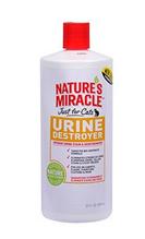 Заказать 8in1 Nature's Miracle Urine Destroyer / Уничтожитель Пятен, запахов и осадка от мочи Кошек по цене 620 руб