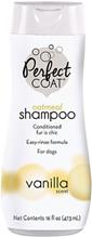 8in1 Perfect Coat Natural Oatmeal / 8в1 Шампунь для собак овсяный Успокаивающий для кожи с ароматом ванили