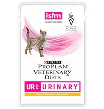 Purina Pro Plan Veterinary Diets UR Urinary Chicken / Лечебные паучи Пурина Про План Ветеринарная Диета для кошек Уринари Мочекаменная болезнь Курица (цена за упаковку)