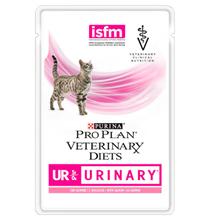 Purina Pro Plan Veterinary Diets UR Urinary Salmon / Лечебные паучи Пурина Про План Ветеринарная Диета для кошек Уринари Мочекаменная болезнь Лосось (цена за упаковку)