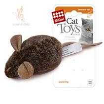 GiGwi Cat Toys / Игрушка Гигви для кошек Мышка со звуковым чипом (издает звуки при касании)