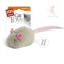 GiGwi Cat Toys / Игрушка Гигви для кошек Мышка со звуковым чипом