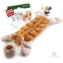 GiGwi Dog Toys / Игрушка Гигви для собак Обезьяна с 19-тью пищалками