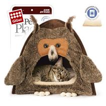 GiGwi Pet Place / Игрушка Гигви для кошек и мелких собак Домик Сова