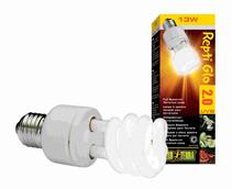 Hagen Reptile Natural Light former UVB 2.0 Compact / Лампа Хаген для террариума с полным спектром