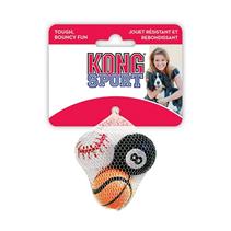 Kong Air Dog Sport / Игрушка Конг для собак Теннисный мяч 3шт