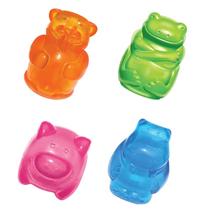 Kong Squeezz Jels / Игрушка Конг для собак в ассортименте Бобер Бегемот Свинка Лягушка