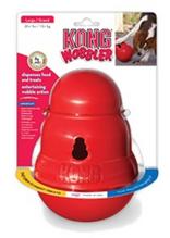 Kong Wobbler / Игрушка Конг для собак Интерактивная с функцией дозировки еды