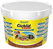 TetraCichlid Colour / корм для всех видов цихлид для улучшения окраса 10 л (ведро)
