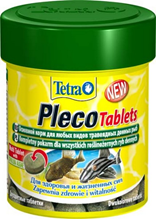 TetraPlecoTablets / корм со спирулиной для сомов и донных рыб 58 таб.