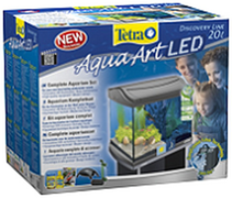 Tetra AquaArt LED Goldfish / аквариумный комплекс 20 л с LED освещением