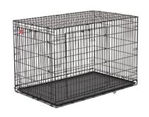 Заказать MidWest Life Stages A.C.E. Double Door Dog Crate / Клетка 2 двери Черная по цене 8410 руб