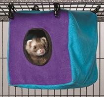 MidWest Nation Accessories Cozy Cube / Домик Мидвест для хорьков Подвесной