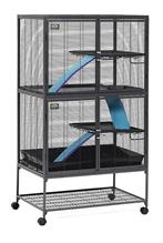 Заказать MidWest Critter Nation Double Unit / Клетка для Крыс Шиншилл Хорьков Летяг Ежей Дегу 2 этажа по цене 30900 руб