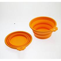 Заказать SuperDesign / миска силиконовая складная средняя 700 мл оранжевая по цене 350 руб