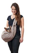 Hunter Los Angeles слинг для собак Бежевый / Серый