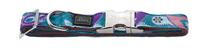 Заказать Hunter Alu-Strong Paisley / ошейник для собак нейлон с металлической застежкой Индийские огурцы по цене 760 руб