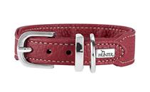 Hunter Cannes Mini / ошейник для собак натуральная кожа Бордовый