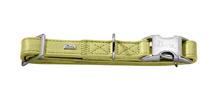 Заказать Hunter Capri Alu-Strong / ошейник для собак натуральная кожа Лайм по цене 2010 руб