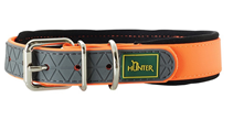 Hunter Convenience Comfort / ошейник для собак биотановый мягкая горловина неон Оранжевый