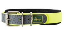 Hunter Convenience Comfort / ошейник для собак биотановый мягкая горловина неон Желтый