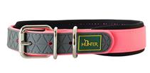 Hunter Convenience Comfort / ошейник для собак биотановый мягкая горловина неон Розовый