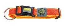 Hunter Maui / ошейник для собак сетчатый текстиль Оранжевый