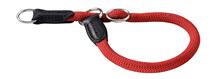 Hunter Freestyle / ошейник-удавка для собак круглый нейлон Красный