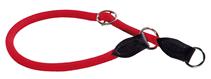 Hunter Freestyle / ошейник-удавка для собак нейлоновая стропа Красный