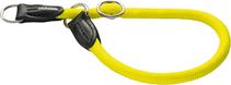 Hunter Freestyle Neon / ошейник-удавка для собак нейлоновая стропа Желтый неон