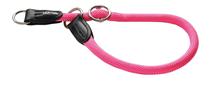 Hunter Freestyle Neon / ошейник-удавка для собак нейлоновая стропа Розовый неон