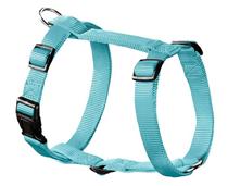 Hunter Smart Ecco Sport / шлейка для собак нейлон Бирюзовая
