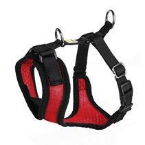 Hunter Manoa шлейка для собак нейлон / сетчатый текстиль Красная