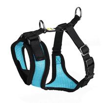 Hunter Manoa шлейка для собак нейлон / сетчатый текстиль Голубая