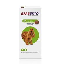 MSD Intervet Bravecto / Жевательная таблетка Бравекто от Блох и Клещей для собак весом 10 - 20 кг