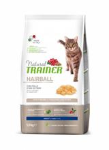 Trainer Natural Hairball / Сухой корм Трейнер для кошек Выведение Шерсти Курица