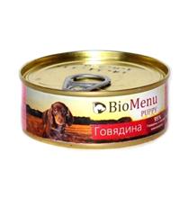 BioMenu Puppy / Консервы для Щенков Говядина Цена за упаковку 100x24